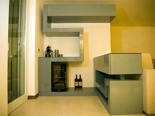 Residenza privata Luca Bucciantini Architettura d' interni Soggiorno moderno