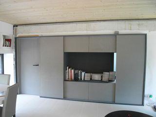 Allegre + Bonandrini architectes DPLG Living roomShelves