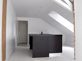 Allegre + Bonandrini architectes DPLG Modern style kitchen