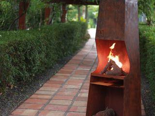 chimeneas acero CLASS MANUFACTURING SA JardínPérgolas, toldos e invernaderos