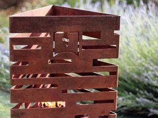 chimeneas acero CLASS MANUFACTURING SA JardínAccesorios y decoración
