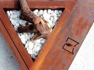 chimeneas acero CLASS MANUFACTURING SA JardínPlantas y flores