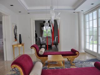 Total Redesign Villa Vienna Elke Altenberger Interior Design & Consulting Klassische Wohnzimmer