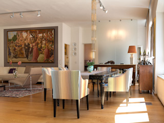Behagliches Loft Elke Altenberger Interior Design & Consulting Ausgefallene Esszimmer