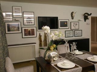 Kleines Appartement für großen Kunden Elke Altenberger Interior Design & Consulting Ausgefallene Esszimmer