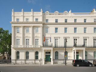 German Embassy London - Façade Restoration ÜberRaum Architects Classic offices & stores