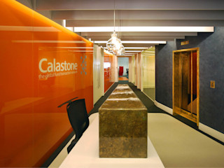 Calastone (fund industry) - London Headquarters ÜberRaum Architects Modern commercial spaces
