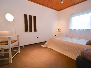 Luna Homestaging Camera da letto moderna