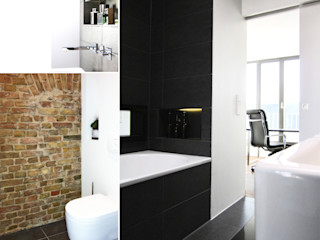 Büro VonSchöngestalt Modern bathroom