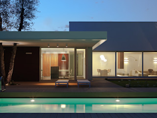 Cannata&Partners Lighting Design Nowoczesne domy