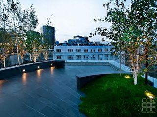 Victoria 1, London Urban Roof Gardens Modern terrace