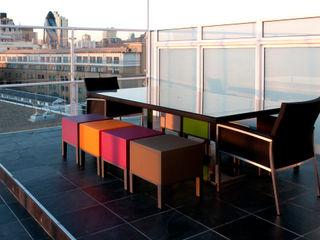 Southbank, London Urban Roof Gardens Modern terrace