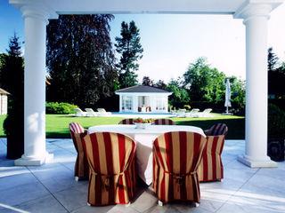 Villa in Monaco Scultura & Design S.r.l. Balcone, Veranda & Terrazza