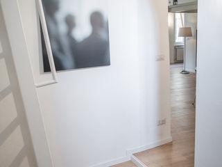 via delle Orfane con3studio Ingresso, Corridoio & Scale