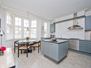 Apartment, Little Boltons, London 4D Studio Architects and Interior Designers Modern kitchen