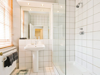 Apartment, Little Boltons, London 4D Studio Architects and Interior Designers Modern bathroom