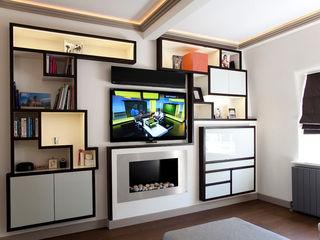 Knightsbridge Bachelor Pad - London Prestige Architects By Marco Braghiroli Вітальня