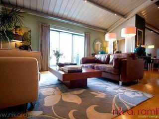 Open Space The Comfort Zone Nik A Ramli Interior Design Modern living room