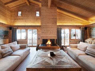 Chalet Gstaad Ardesia Design Вітальня