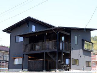 高野建築 Casas modernas