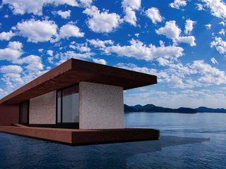 Giovanni Lucentini piccolo studio di architettura di 7 mq. Yates y jets de estilo moderno