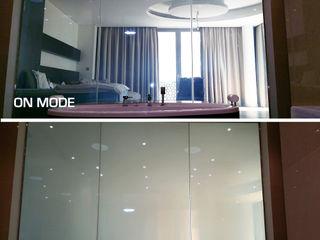 Vidrios de privacidad Eclectic style bathroom