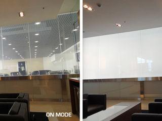 Vidrios de privacidad Modern car dealerships