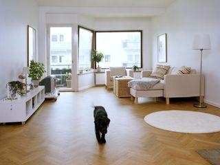 Suelo de madera acabado con productos Bona Bona Parede e pavimentoRevestimentos de parede e pavimentos