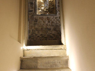 Abitazione in San Frediano, Firenze Studio Tecnico Progettisti Associati Ing. Marani Marco & Arch. Dei Claudia Ingresso, Corridoio & Scale in stile eclettico