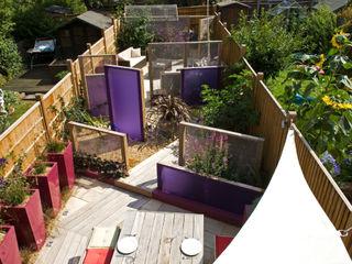 Party garden in Sevenoaks, Kent Earth Designs Modern Bahçe