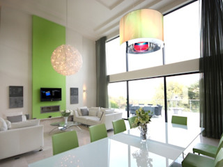 North Yorkshire Home Cinema and Home Automation Installation Inspire Audio Visual Salle à manger