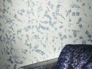 SERRANOS Studio Modern Walls and Floors Blue