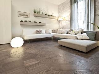 Slide Floor tuttoparquet Ściany i podłogiWykładziny ścienne i podłogowe Drewno Szary