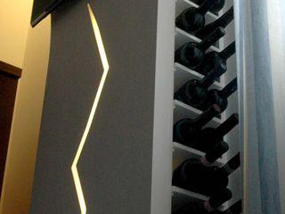 PECORAMELLOarchitetti Living roomTV stands & cabinets