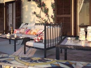 Vittorio Bonapace 3D Artist and Interior Designer Balcones y terrazas mediterráneos