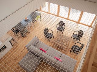MAISON PASSIVE - ARCANGUES - PAYS BASQUE POLY RYTHMIC ARCHITECTURE Salon moderne