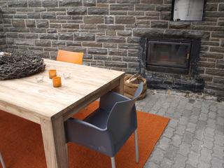 Raumpraesenz-Homestaging Modern balcony, veranda & terrace