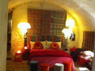 Scenes d'interieuR Eclectic style bedroom