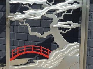Edelstahl Atelier Crouse: 庭院 金屬 Metallic/Silver
