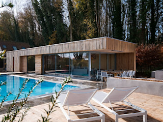 Bluebell Pool House Adam Knibb Architects Modern houses
