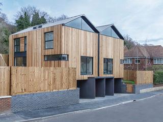 The Cedar Lodges Adam Knibb Architects Modern houses