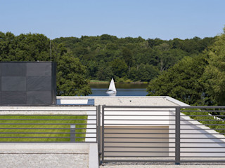MOBIUS ARCHITEKCI PRZEMEK OLCZYK Casas modernas: Ideas, imágenes y decoración