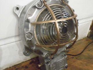 Vintage Bulkhead Lamp Travers Antiques Living roomLighting
