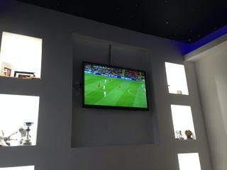 Starlight ceiling in 'movie room' Lancashire design ceilings Moderne woonkamers