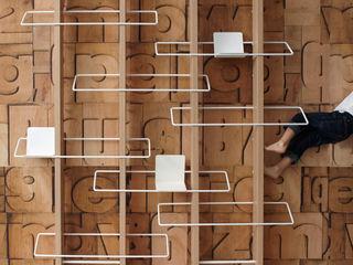 TRALICCIO 4P1B Design Studio SoggiornoScaffali