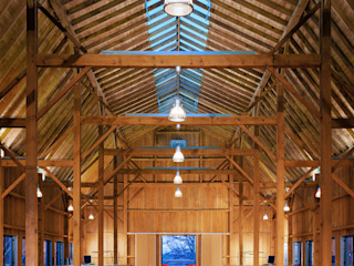 7 Oaks Farm - Studio L-Plan Lichtplanung Ausgefallene Wohnzimmer