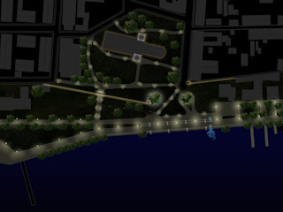 Neuruppin Lichtmasterplan L-Plan Lichtplanung