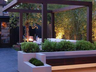 Garden in West London Paul Newman Landscapes 庭院
