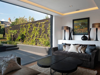 London Townhouse The Silkroad Interior Design Modern Living Room
