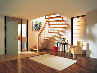 Treppenbau Friedel Becker Corridor, hallway & stairsStairs